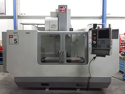 Haas VF-5 in der Totalen